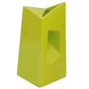 Chimney Vase Lime Green Tall