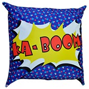 Comic Book Cushion Cover Ka Boom