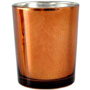 Copper Cylinder Votive
