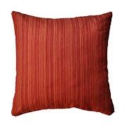 Corduroy Cushion Cover Two Tone Red and Orange
