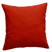 Cotton Cushion Cover Dark Burnt Red