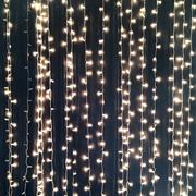 Curtain Lights LED Warm