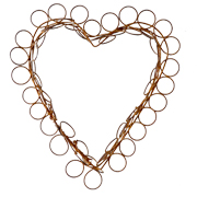 Decorative Heart Wire Large