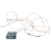 Fairy Lights Warm White Copper Wire Battery Operated