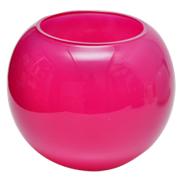 Fish Bowl Vase Pink