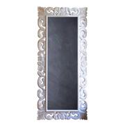 Full Length Limewash Frame Chalkboard
