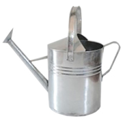 Galvanised Watering Can Large