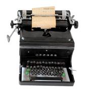German Truimph Typewriter