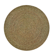 Grass Swazi Round Mat Large
