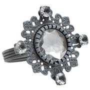 Grey Vintage Napkin Ring
