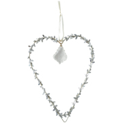 Hanging Heart with Crystal