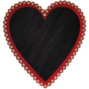 Heart Chalkboard