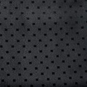 Jacquard Table Cloth Small Block Black