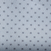 Jacquard Table Cloth Small Block Grey
