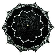Lace Parasol Black