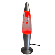 Larva Lamp Red