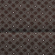 Linen Napkin Brown and White Shwe Shwe Print H