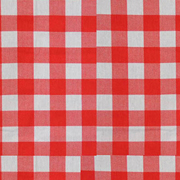 Linen Napkin Red Gingham Small Square