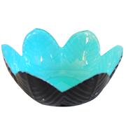 Lotus Votive Turquoise