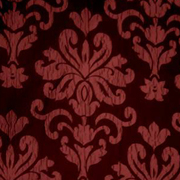 Luxury Table Cloth French Damask Black and Red
