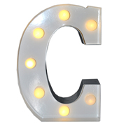 Marquee Letter C