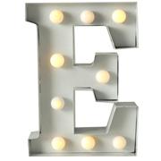 Marquee Letter E