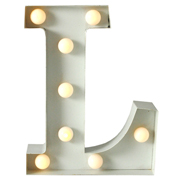 Marquee Letter L
