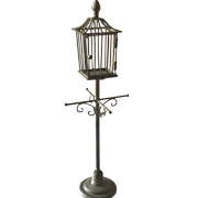 Metal Cage Stand