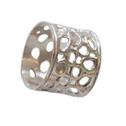 Metal Napkin Ring Holes