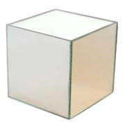 Mirror Box Riser 10cm Cube