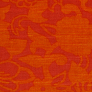 Orange Floral Indian Runner