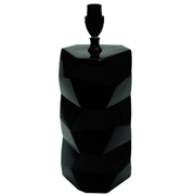 Origami Lamp Black Gloss