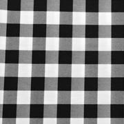 Overlay Gingham Black and White Medium