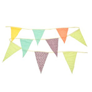 Pastel Coloured Bunting