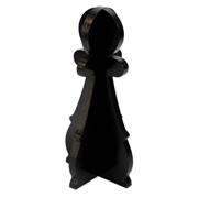 Pawn Sculpture Black