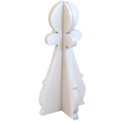 Pawn Sculpture White