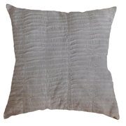 Pin Tuck Cushion Cover Off White