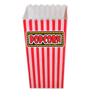 Plastic Popcorn Bowl