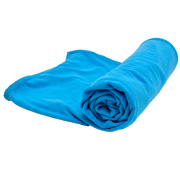 Plush Throw Primary Blue