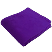 Plush Throw Purple