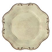 Provencal Under Plate Ivory