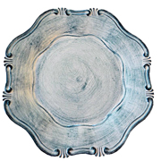 Provencal Under Plate Denim