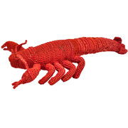 Raffia Crochet Lobster