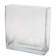Rectangle Tank Vase 15 x 6.3 x 15