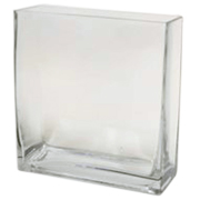 Rectangle Tank Vase 18 x 6.3 x 18