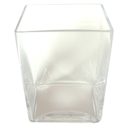 Rectangle Tank Vase 10 x 8 x14h