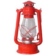 Red Paraffin Lantern