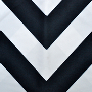 Runner Black and White Chevron
