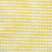 Runner Gingham Yellow Small Square