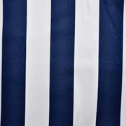 Runner Navy and White Thick Stripe Print B